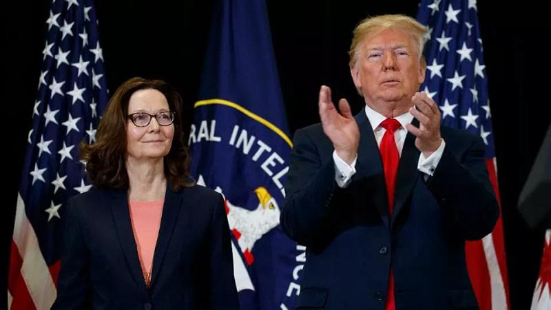 CIA-Τραμπ