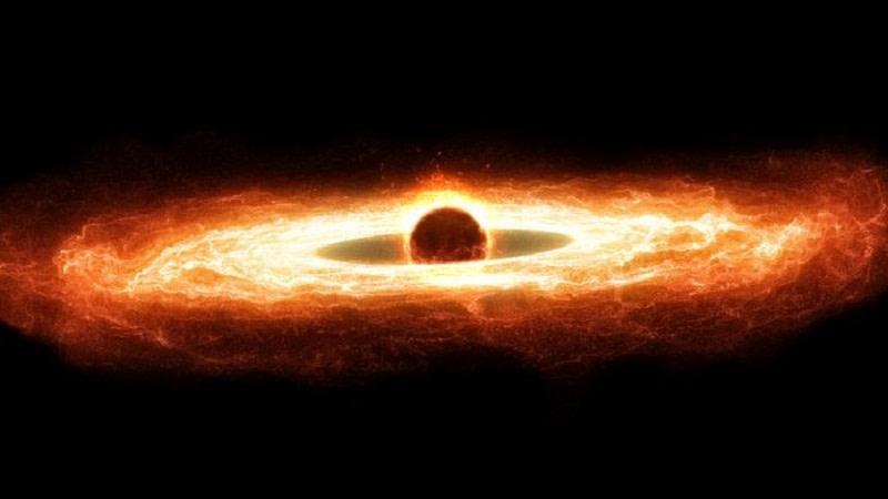 υπερμεγέθη μαύρη τρύπα
