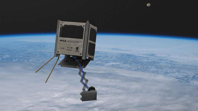 WISA Woodsat - πρώτος ξύλινος δορυφόρος