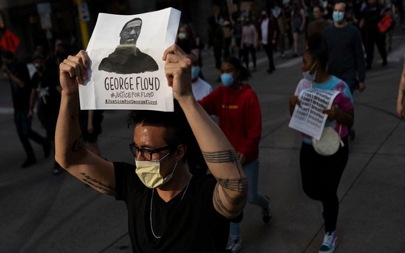 George Floyd Anonymous hack
