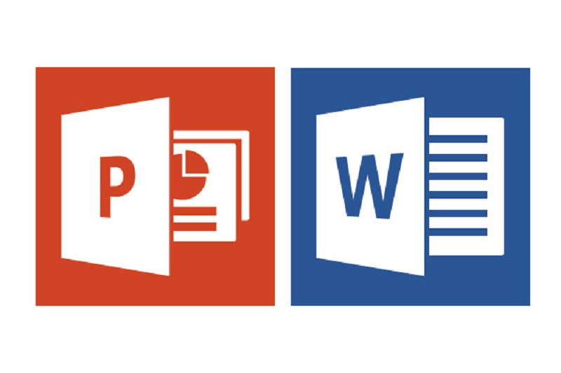 PowerPoint slide σε ένα Word