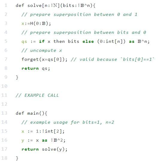 γλώσσα για κβαντικούς υπολογιστές