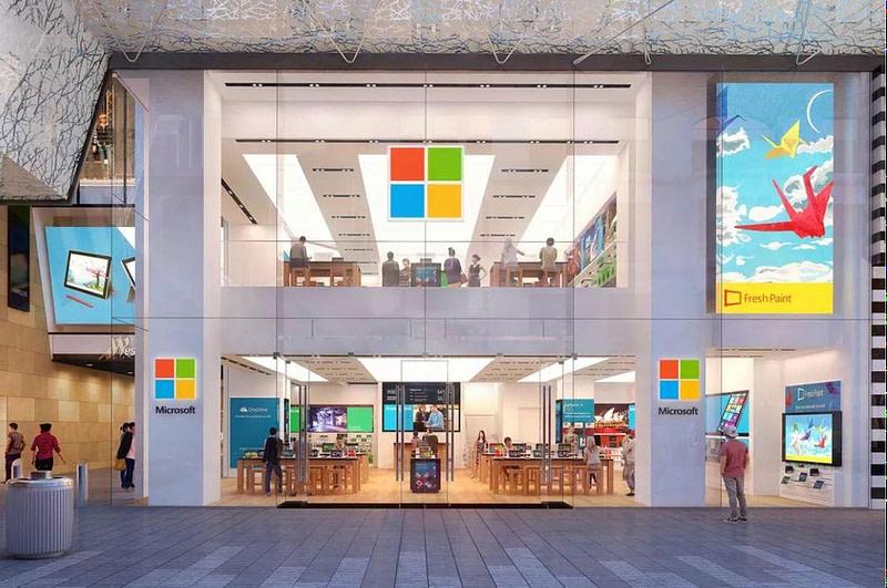 Microsoft-καταστήματα λιανικής