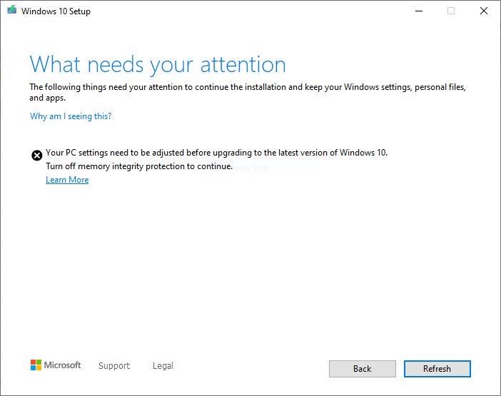 Windows 10 2004 ρυθμίσεις