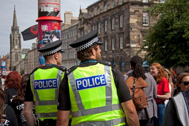 Σκωτία αστυνομία