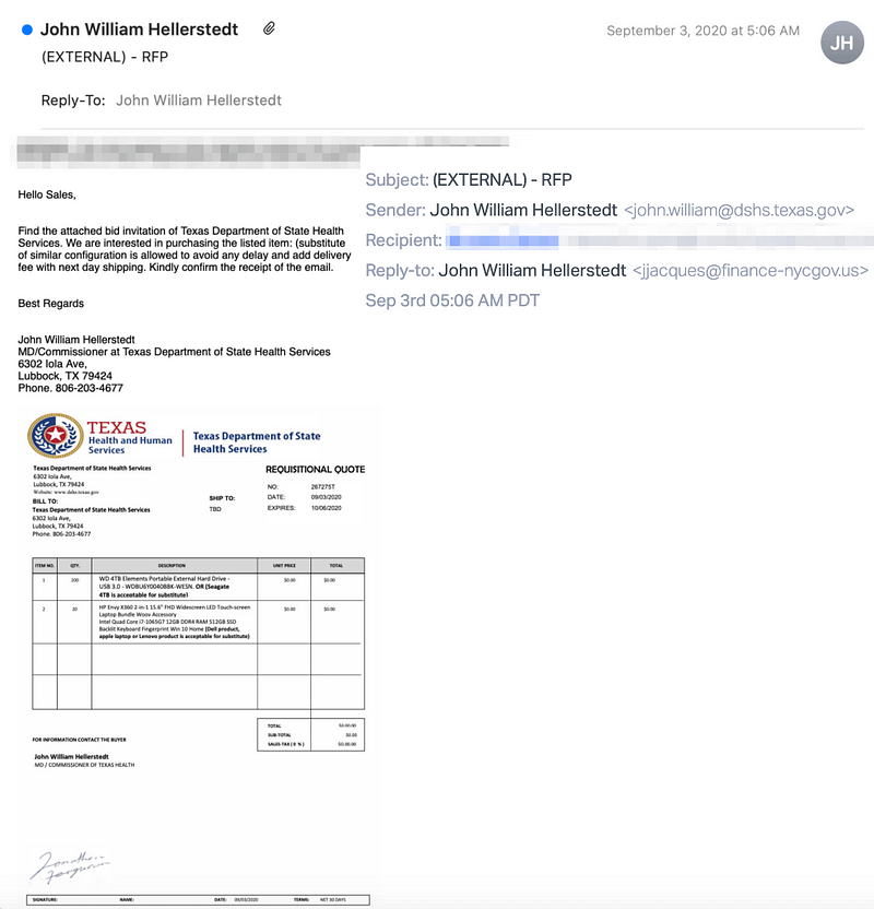 phishing email-απατεώνες