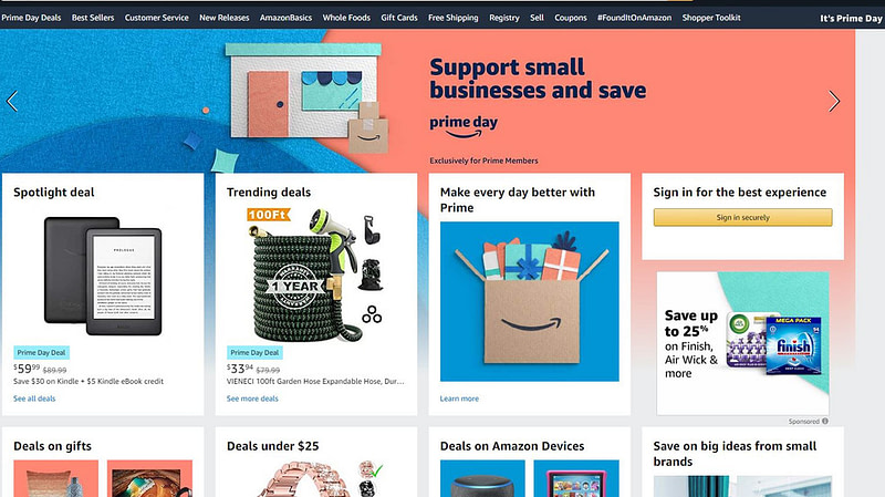 Amazon Prime Day απατεώνες