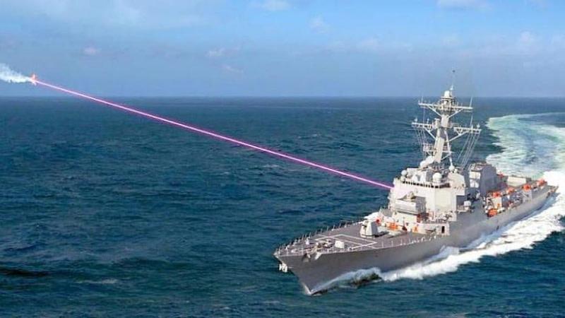 Αντιτορπιλικά με anti-drone laser όπλα