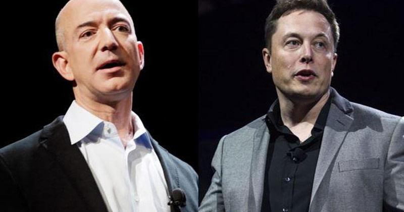 Elon Musk και Jeff Bezos «συγκρούονται» για τις τροχιές των δορυφόρων!