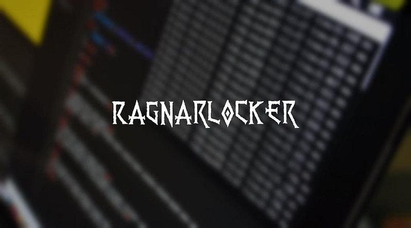 Ragnar Locker ransomware