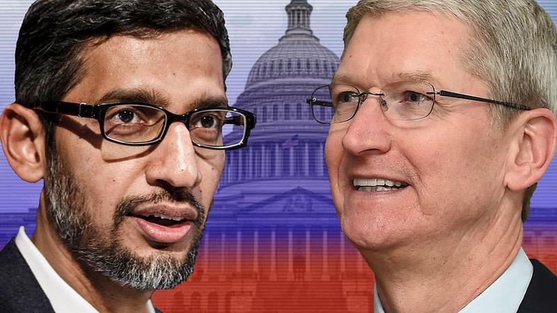 Γερουσία των ΗΠΑ - Apple/Google