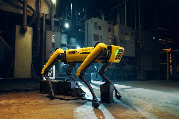 σκύλος - ρομπότ Νέα Υόρκη