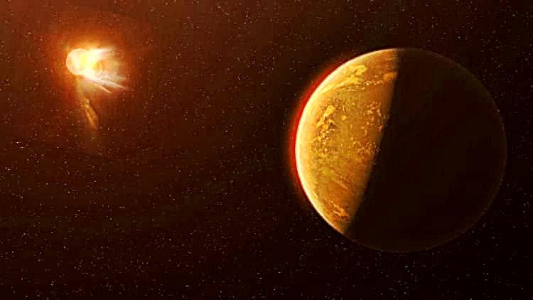 αστρική λάμψη Proxima Centauri