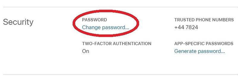 iPhone: Πώς να αλλάξετε τον κωδικό πρόσβασης του Αpple ID