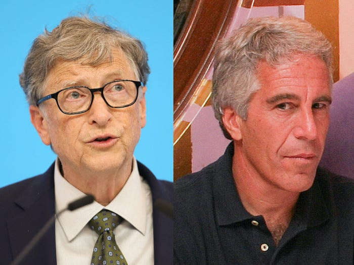 Bill Gates και Jeffrey Epstein