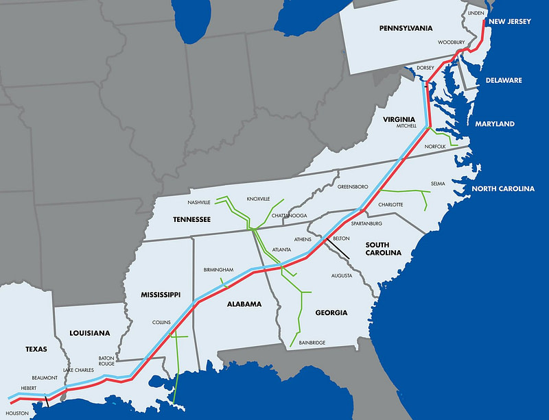 Colonial Pipeline Ransomware επίθεση