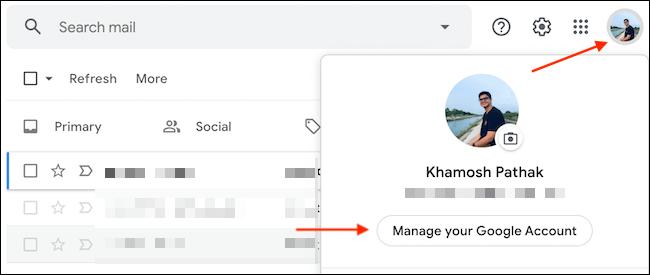 Αποσύνδεση remotely από Gmail account