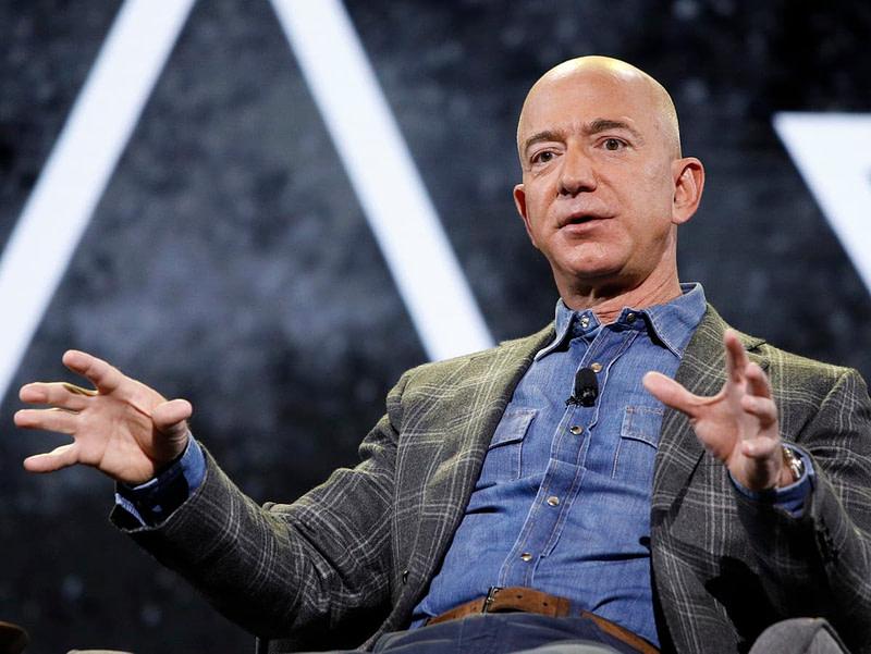 Jeff Bezos Υπογραφές ταξίδι διάστημα