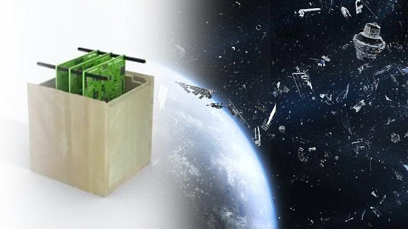 WISA Woodsat πρώτος ξύλινος δορυφόρος