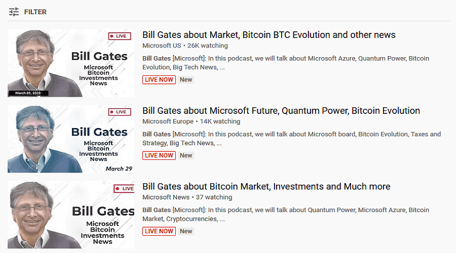 YouTube   Bill Gates