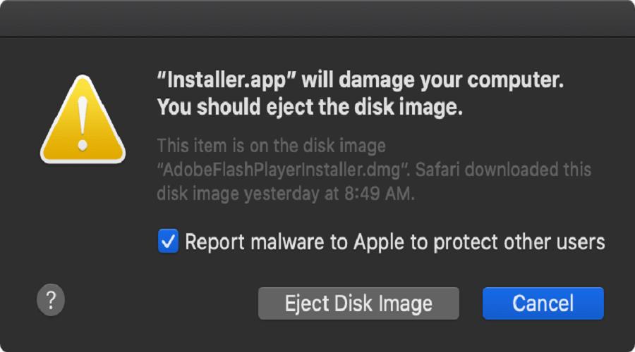 Shlayer malware
