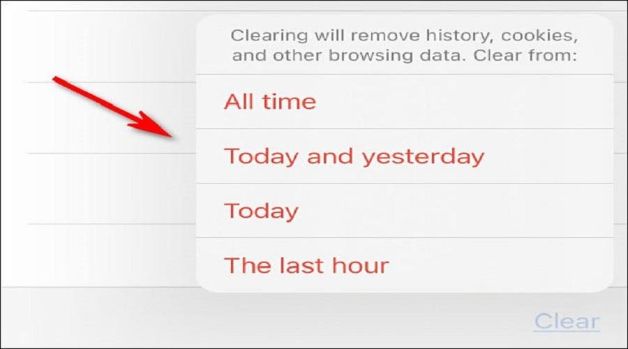 Safari iPhone iPad