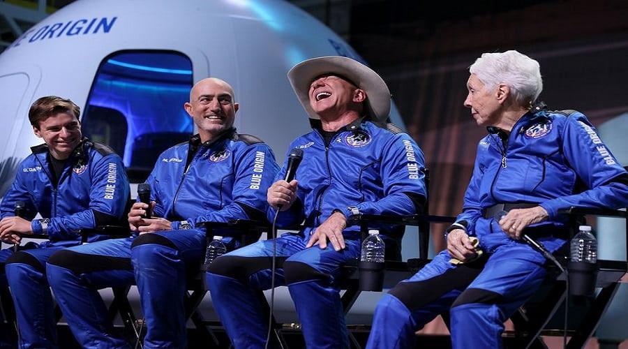 Jeff Bezos διάστημα