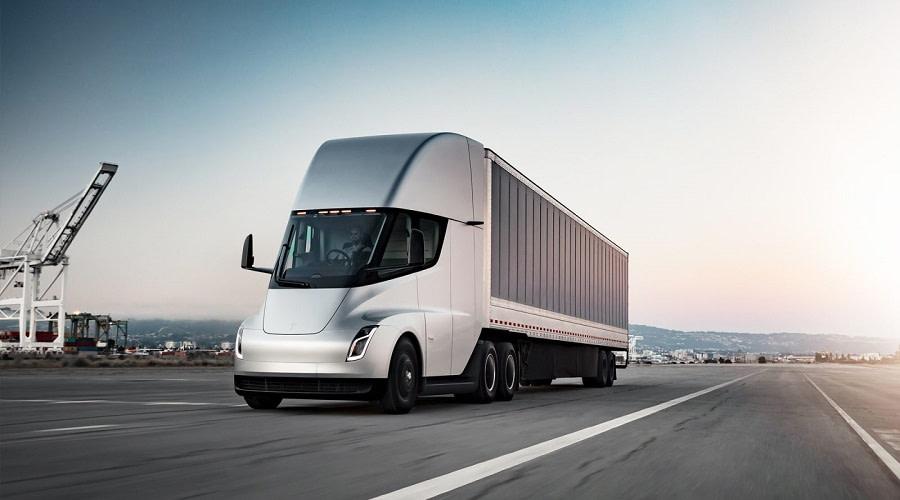 Tesla Semi truck παραγωγή