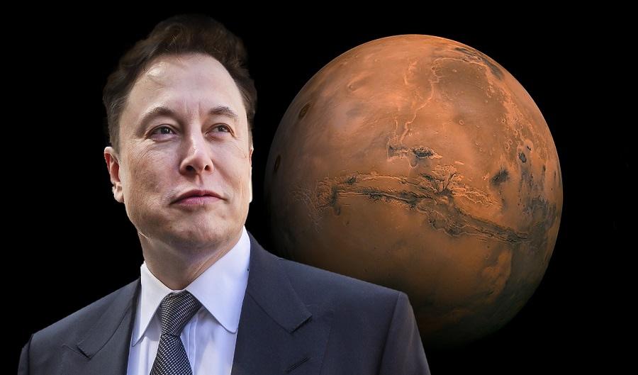 Elon Musk Άρη