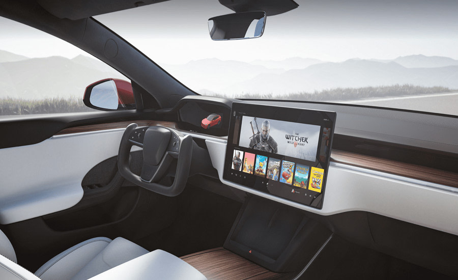 Tesla PlayStation 5