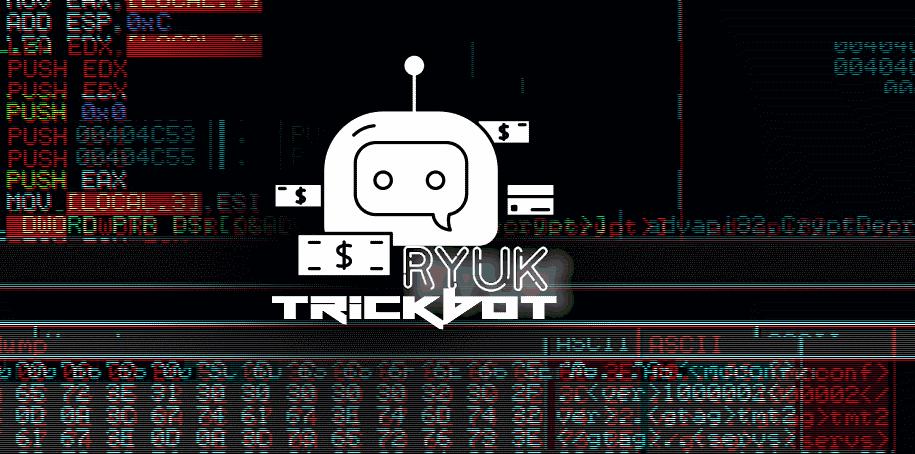 Ryuk ransomware Trickbot