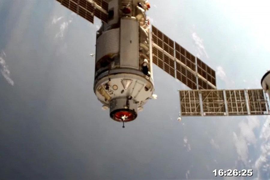 "ISS ρωσική μονάδα ""Nauka"""
