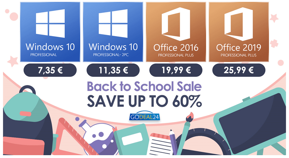 Φθηνά Windows 10 κλειδιά με μόλις 7€ για λίγες μόνο μέρες!