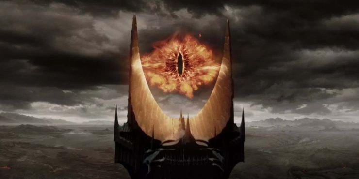Μάτι του Σάουρον ηφαίστειο