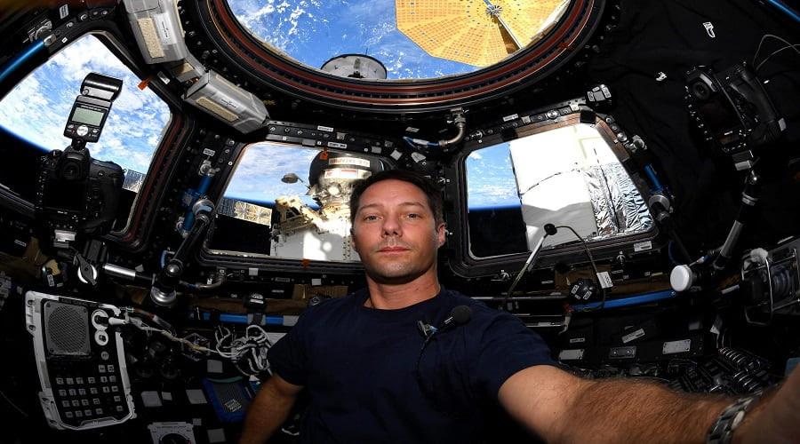 Thomas Pesquet ISS International Space Station