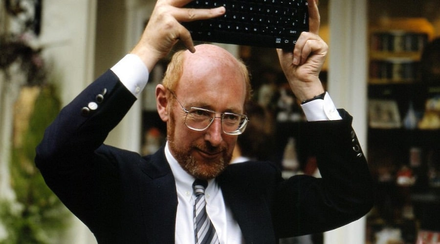 Sir Clive Sinclair home computers