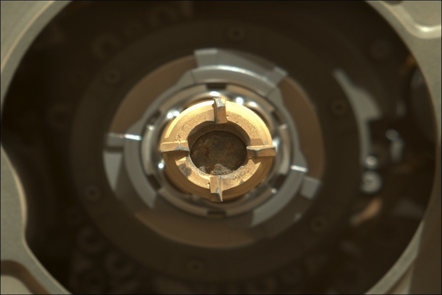 συλλογή δείγματος Άρη