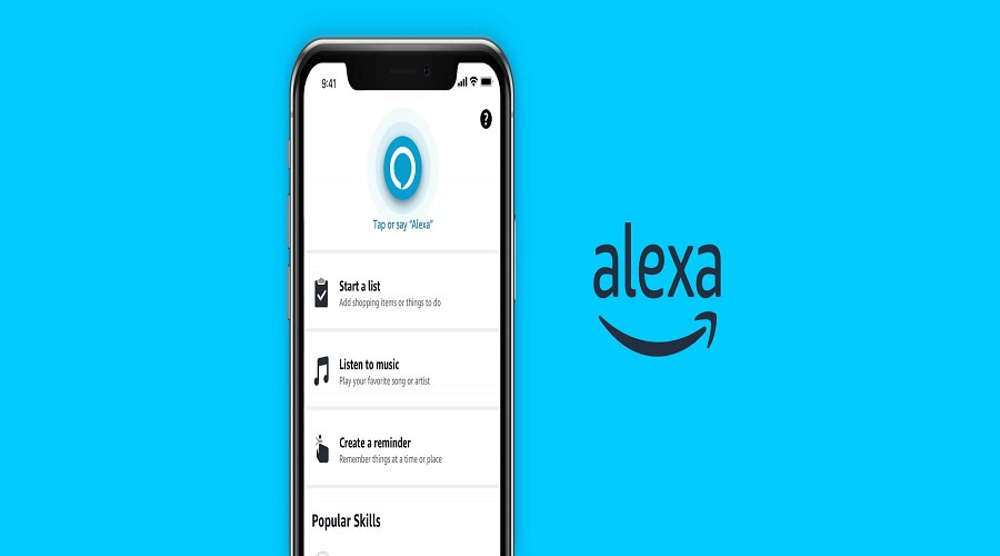 Amazon Alexa αντρική φωνή