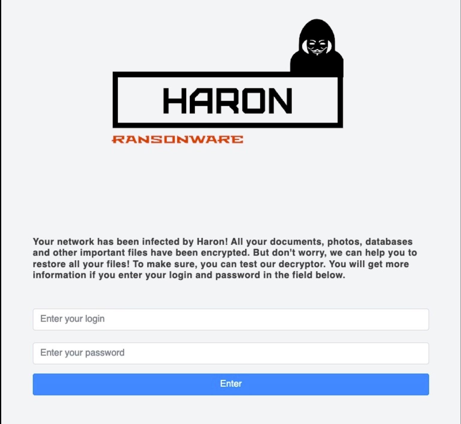 Haron & BlackMatter