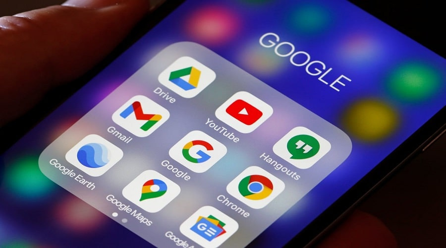 Android Google Maps YouTube Gmail