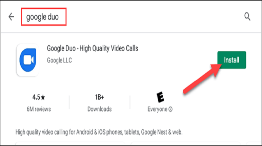 Google Duo Chromebook