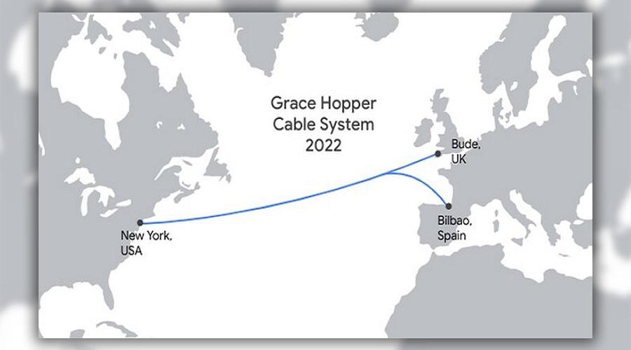 Google υποθαλάσσιο καλώδιο Grace Hopper