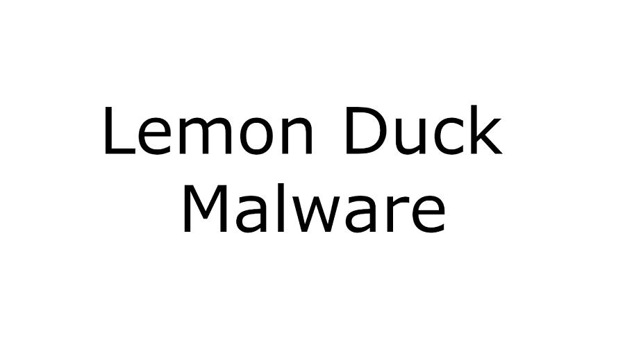 LemonDuck cryptomining malware
